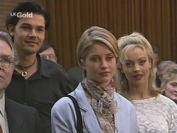 Sam Kratz, Danni Stark, Annalise Hartman in Neighbours Episode 2486