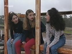 Zoe Tan, Hannah Martin, Phoebe Boyd in Neighbours Episode 2487
