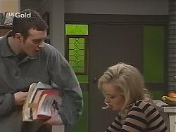 Stonie Rebecchi, Annalise Hartman in Neighbours Episode 2487