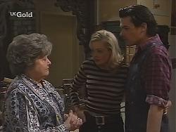Marlene Kratz, Annalise Hartman, Sam Kratz in Neighbours Episode 2488