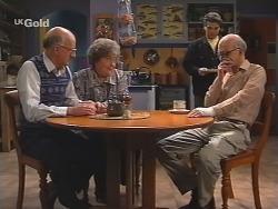 Colin Taylor, Marlene Kratz, Mark Gottlieb, Alf Taylor in Neighbours Episode 2488