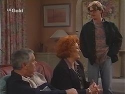 Lou Carpenter, Cheryl Stark, Brett Stark in Neighbours Episode 2488