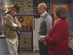 Alf Taylor, Colin Taylor, Marlene Kratz in Neighbours Episode 2488