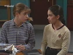 Hannah Martin, Zoe Tan in Neighbours Episode 2488