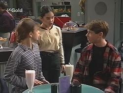 Hannah Martin, Zoe Tan, Lance Wilkinson in Neighbours Episode 2488
