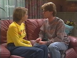 Danni Stark, Brett Stark in Neighbours Episode 2489