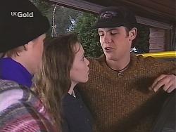 Danni Stark, Libby Kennedy, Malcolm Kennedy in Neighbours Episode 2489