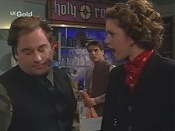 Adrian Ewart, Mark Gottlieb, Caroline Sinclair in Neighbours Episode 2489