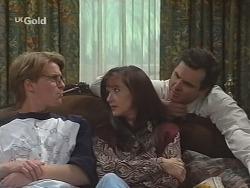 Brett Stark, Susan Kennedy, Karl Kennedy in Neighbours Episode 2490