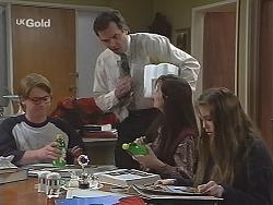Brett Stark, Karl Kennedy, Susan Kennedy, Libby Kennedy in Neighbours Episode 2490