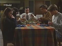 Libby Kennedy, Susan Kennedy, Karl Kennedy, Malcolm Kennedy, Billy Kennedy in Neighbours Episode 2490