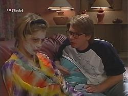 Danni Stark, Brett Stark in Neighbours Episode 2490