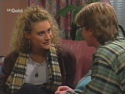 Samantha Spry, Brett Stark in Neighbours Episode 2490