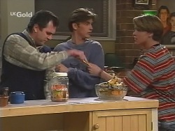 Karl Kennedy, Malcolm Kennedy, Billy Kennedy in Neighbours Episode 2491