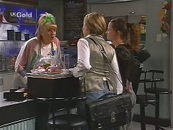 Angie Rebecchi, Jen Handley, Cody Willis in Neighbours Episode 2491