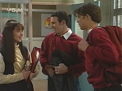 Susan Kennedy, Stonie Rebecchi, Malcolm Kennedy in Neighbours Episode 2491