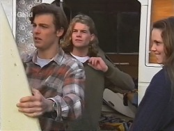 Malcolm Kennedy, Sonny Hammond, Libby Kennedy in Neighbours Episode 2491