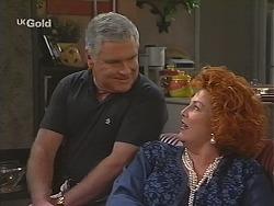 Lou Carpenter, Cheryl Stark in Neighbours Episode 2492