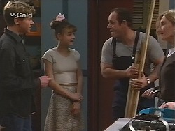 Lance Wilkinson, Hannah Martin, Philip Martin, Jen Handley in Neighbours Episode 2492