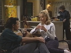 Sam Kratz, Annalise Hartman, Marlene Kratz in Neighbours Episode 2493