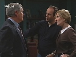 Lou Carpenter, Philip Martin, Jen Handley in Neighbours Episode 2493