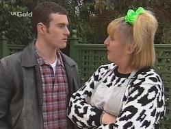 Stonie Rebecchi, Angie Rebecchi in Neighbours Episode 2493