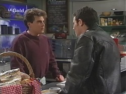 Mark Gottlieb, Stonie Rebecchi in Neighbours Episode 2493