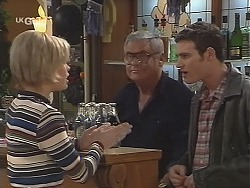 Joanna Hartman, Lou Carpenter, Stonie Rebecchi in Neighbours Episode 2493