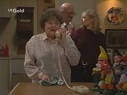 Marlene Kratz, Colin Taylor, Annalise Hartman in Neighbours Episode 2494