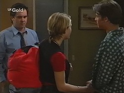 Karl Kennedy, Danni Stark, Malcolm Kennedy in Neighbours Episode 2494