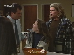 Karl Kennedy, Libby Kennedy, Sonny Hammond in Neighbours Episode 2494