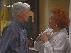 Patrick Kratz, Cheryl Stark in Neighbours Episode 2495