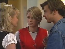 Annalise Hartman, Danni Stark, Malcolm Kennedy in Neighbours Episode 2495