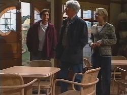 Malcolm Kennedy, Patrick Kratz, Danni Stark in Neighbours Episode 2495