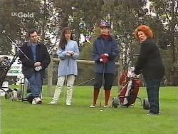 Karl Kennedy, Susan Kennedy, Judy Bergman, Cheryl Stark in Neighbours Episode 2495