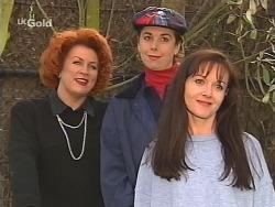 Cheryl Stark, Judy Bergman, Susan Kennedy in Neighbours Episode 2495