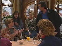 Brett Stark, Susan Kennedy, Danni Stark, Karl Kennedy, Judy Bergman in Neighbours Episode 2495