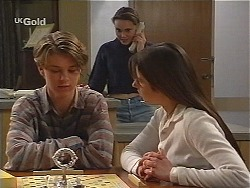 Billy Kennedy, Libby Kennedy, Melissa Drenth in Neighbours Episode 2496