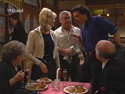 Marlene Kratz, Annalise Hartman, Lou Carpenter, Sam Kratz, Colin Taylor in Neighbours Episode 2497