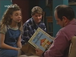 Hannah Martin, Lance Wilkinson, Philip Martin in Neighbours Episode 2497