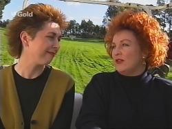 Judy Bergman, Cheryl Stark in Neighbours Episode 2497