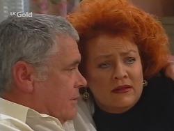 Lou Carpenter, Cheryl Stark in Neighbours Episode 2497