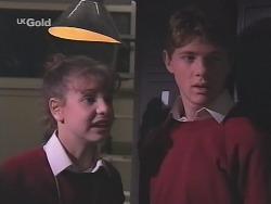 Hannah Martin, Lance Hails in Neighbours Episode 2498