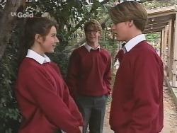 Melissa Drenth, Brett Stark, Billy Kennedy in Neighbours Episode 2498