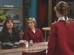 Susan Kennedy, Jen Handley, Hannah Martin in Neighbours Episode 2498