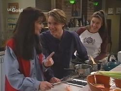 Susan Kennedy, Billy Kennedy, Melissa Drenth in Neighbours Episode 2498