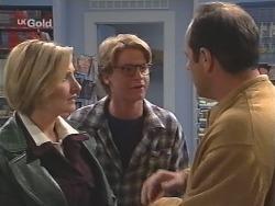 Jen Handley, Brett Stark, Philip Martin in Neighbours Episode 2498