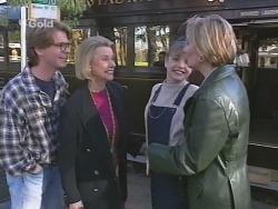 Brett Stark, Helen Daniels, Hannah Martin, Jen Handley in Neighbours Episode 2498