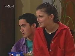 Matt Christensen, Manuela De Ferriera in Neighbours Episode 2498