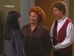 Susan Kennedy, Cheryl Stark, Judy Bergman in Neighbours Episode 2499